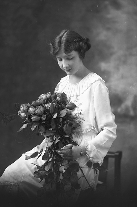 Ruth Edwards on her Wedding Day