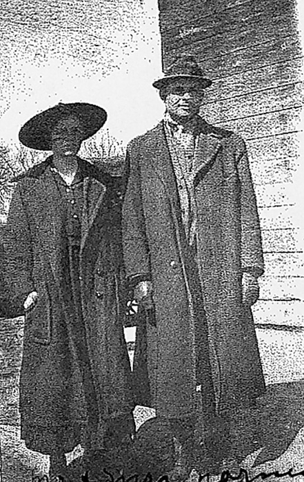 Harry Norman and Della Elnora Williams Norman