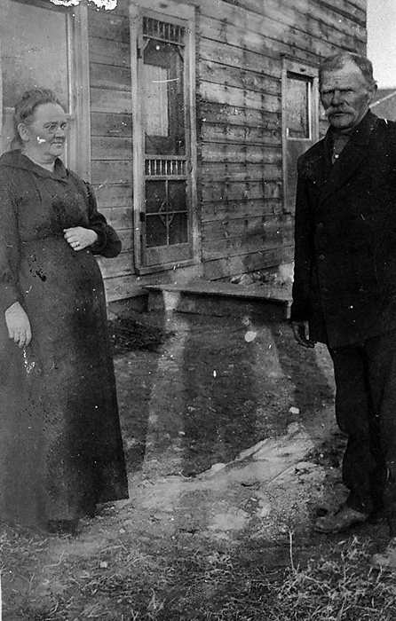 Thomas Burr Williams and Nancy Ellen Murphy Williamns