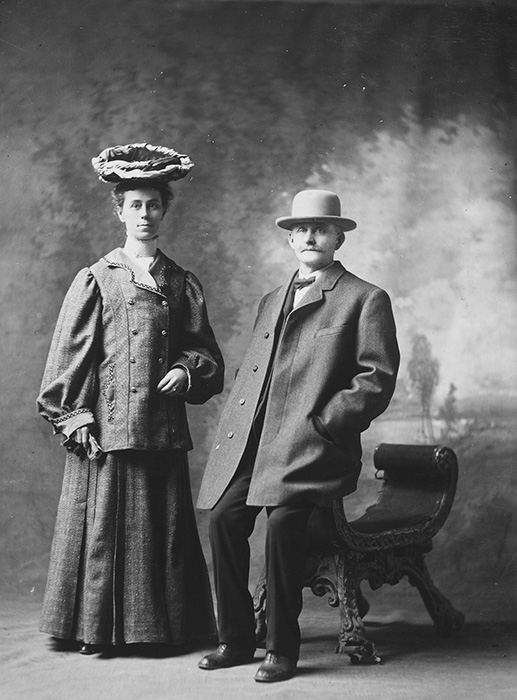 James Elmer Clemons and Mary Catherine Norman, 1905